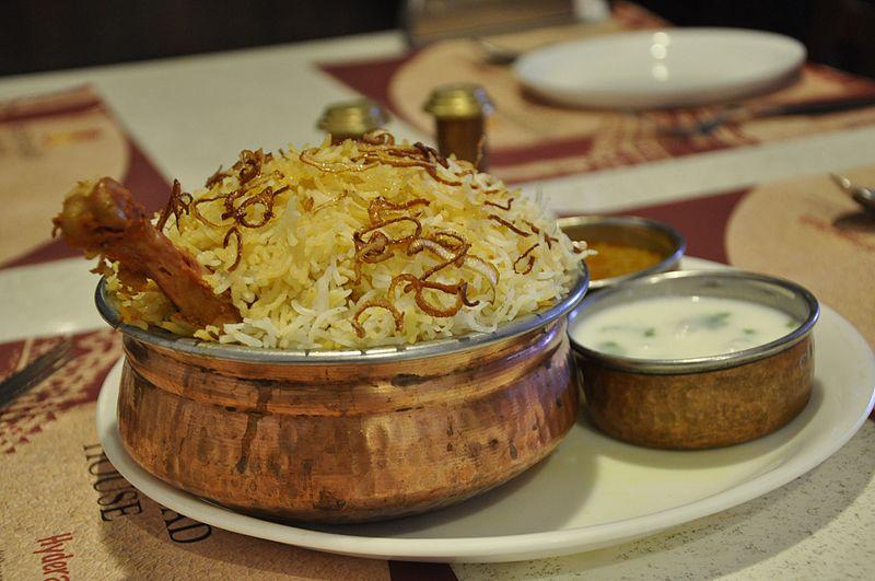 Chicken Hyderabadi Biryani WiseIdiot