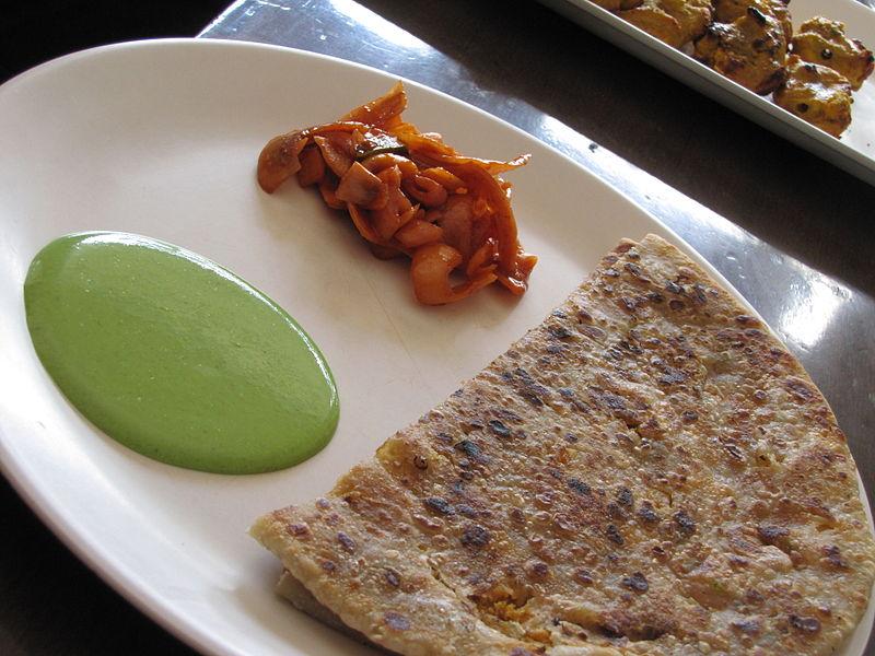 Chicken Keema Paratha - WiseIdiot